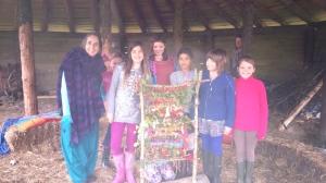 women & girls weaving 2